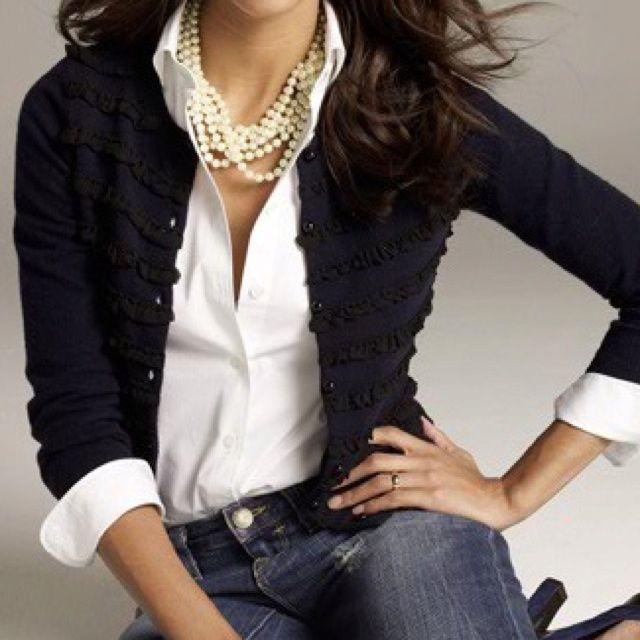 White classic women blouse