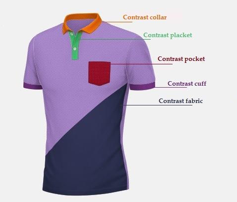 Polo shirt for Custom tailored polo shirts