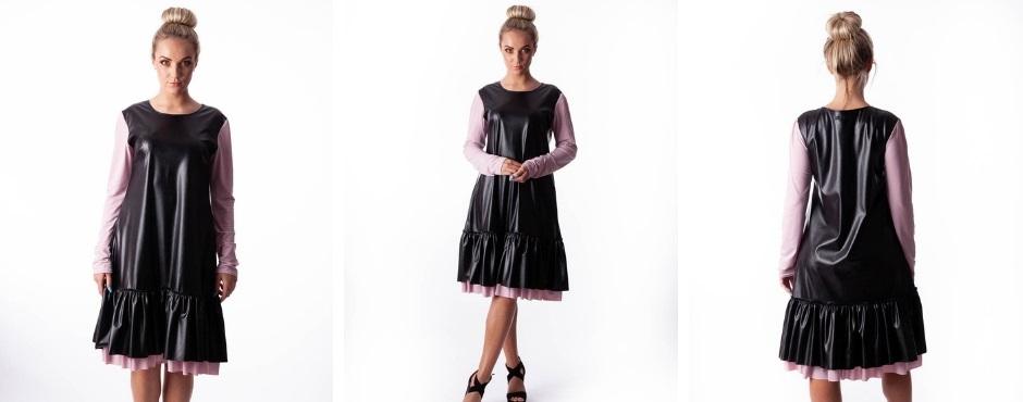 dcbe78fe15e4b Vegan leather dress for women from xs till xxxxl sizes   Betolli.com/en