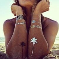 Временные татуировки так называемые - Flash Tattoos
