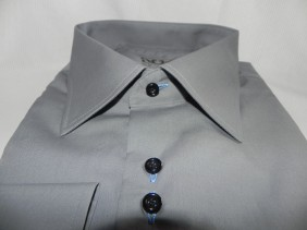 dress shirt with double buttons