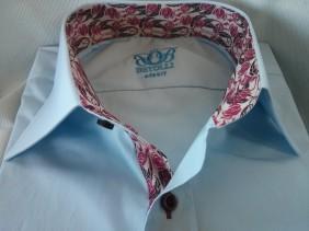 Beautiful custom dress shirts made from Italian fabrics