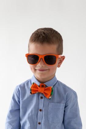 Bērnu tauriņš, oranža vasara