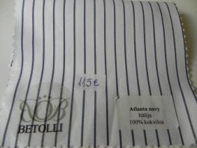 krekla audums-atlanta navy-batolli